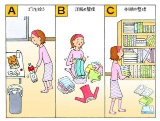 【心理テスト】部屋の掃除をします。あなたは何から始める?