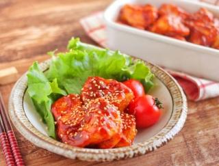 やみつき注意!「鶏むね肉のヤンニョムチキン」#今週の作り置き
