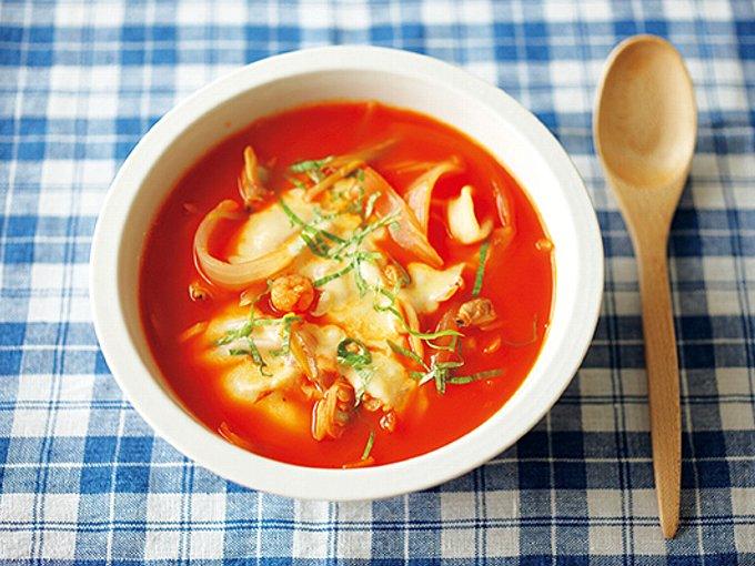菌活トマトスープ