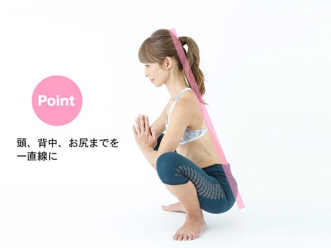 花田美恵子さんが教える!「花輪のポーズ」