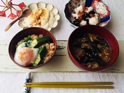 腸活朝ごはんレシピ4品