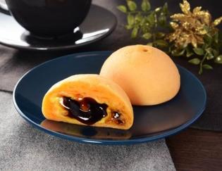 公式サイトで掲載された「もちぷよ(パンプキンプリン風味)」の画像