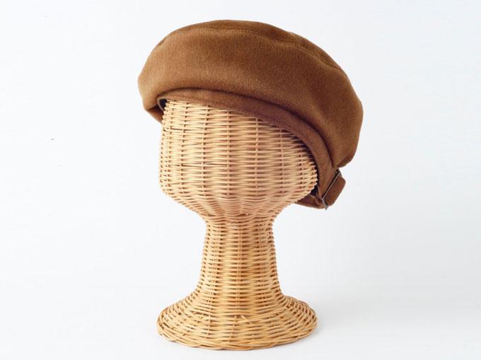 起毛フェルトのベレー帽