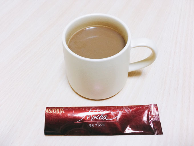 ASTORIAステッィクコーヒー モカブレンド