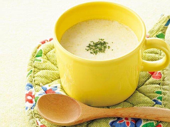 塩ヨーグルトのスープの完成イメージ