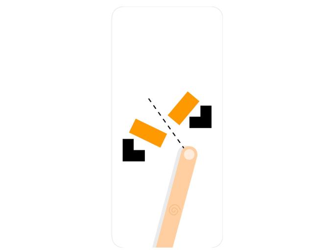 アプリ「Ultra Sharp」の問題例を表示した画像