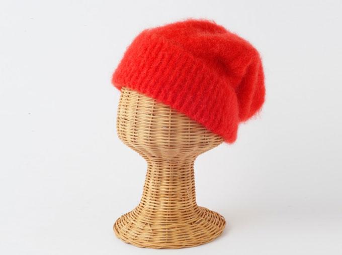 明るいニット帽