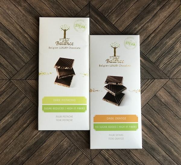 ベルギーの『クリングリー バランスダークチョコレート』