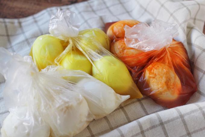 半熟煮卵アレンジ3種