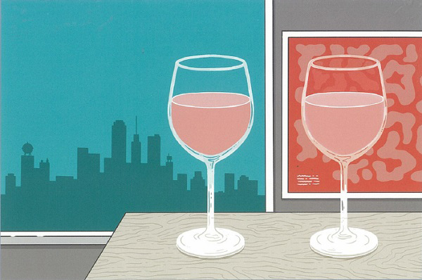 2つのワイングラス