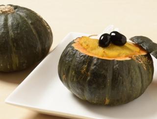 ハロウィンパーティレシピ!丸ごとかぼちゃのグラタン&スイーツ