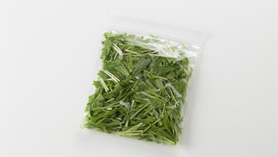 袋に入った水菜