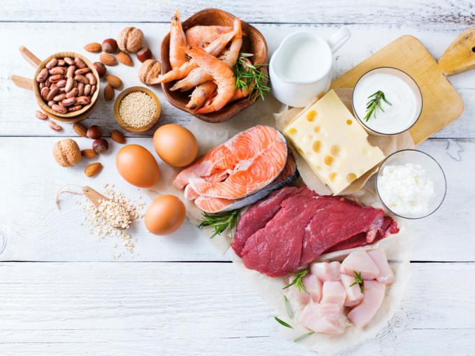 たんぱく質を豊富に含んだ食材