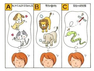 【心理テスト】夢の中で、あなたは何かの動物になっていました。それは何?