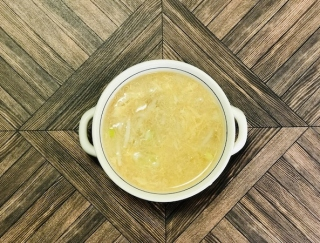 疲れがとれる「酢もやし」を簡単アレンジ!3分でできる食物繊維たっぷりの卵スープ