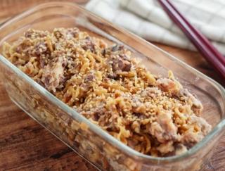5分で完成!人気のさば缶で♡「さば缶と切り干し大根の中華サラダ」#今週の作り置き