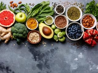 オーガニック食材の画像