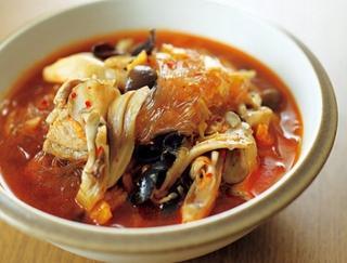代謝アップ&デトックスを叶える!豚肉ときのこの菌活春雨スープ