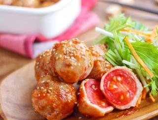 コロンとかわいくて、お弁当にもピッタリ★トマトの肉巻き #今週の作り置き