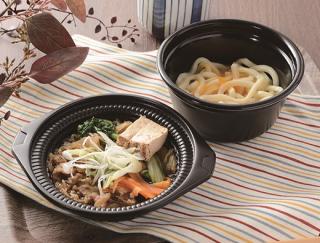 いろいろな食べ方で堪能できる!ローソンの「鍋から〆まで楽シメる! 牛すき鍋(うどん)」が大好評