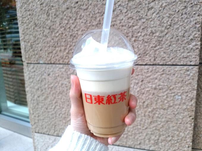 日東紅茶Tea Standのチーズティーの画像