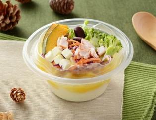 公式サイトで掲載された「クリーミーポテトサラダ かぼちゃ」の画像