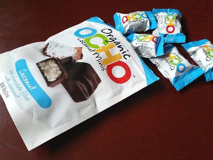 オーガニックのチョコレートの商品画像