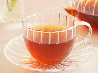 ホッと紅茶のアップ画像