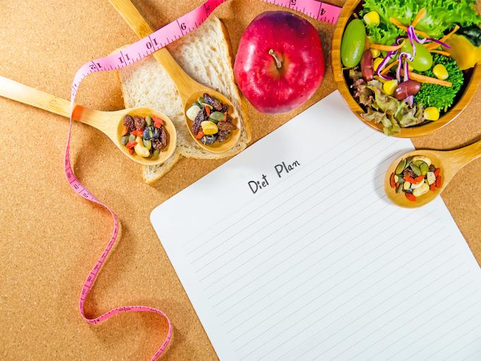 ダイエットプランノートの画像