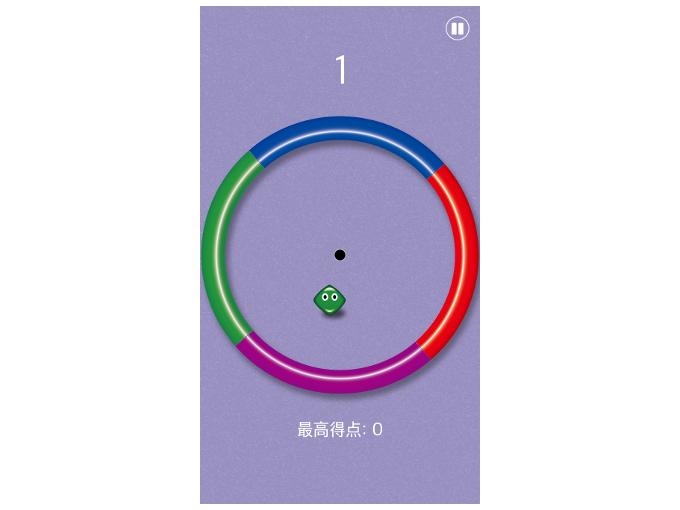 プレイ中の画面を表示した画像