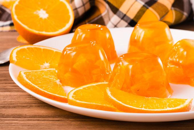 2つ並んだオレンジの画像