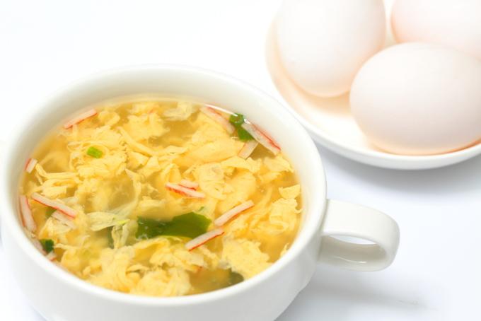 たまごスープの画像