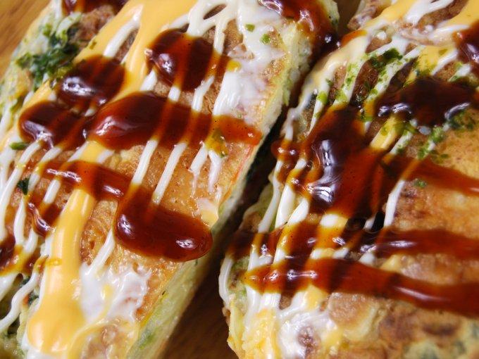「チーズお好み焼」のアップ画像