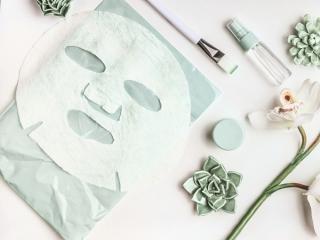 シートマスクと化粧水