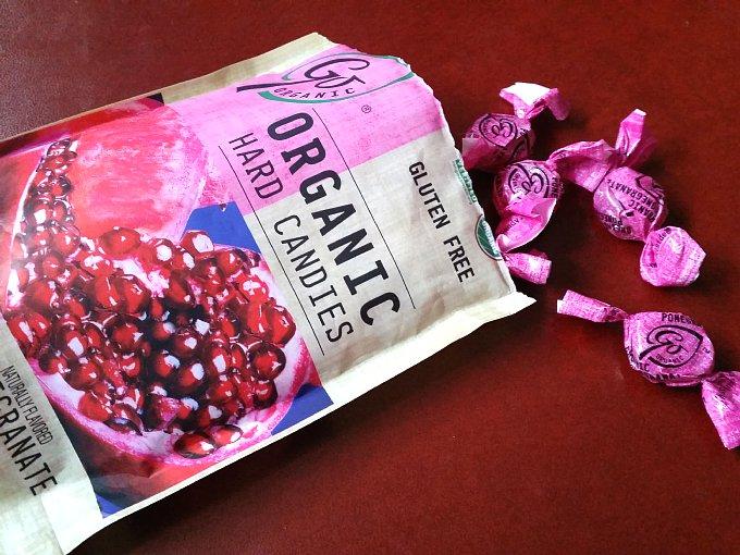 オーガニックのキャンディーの商品画像