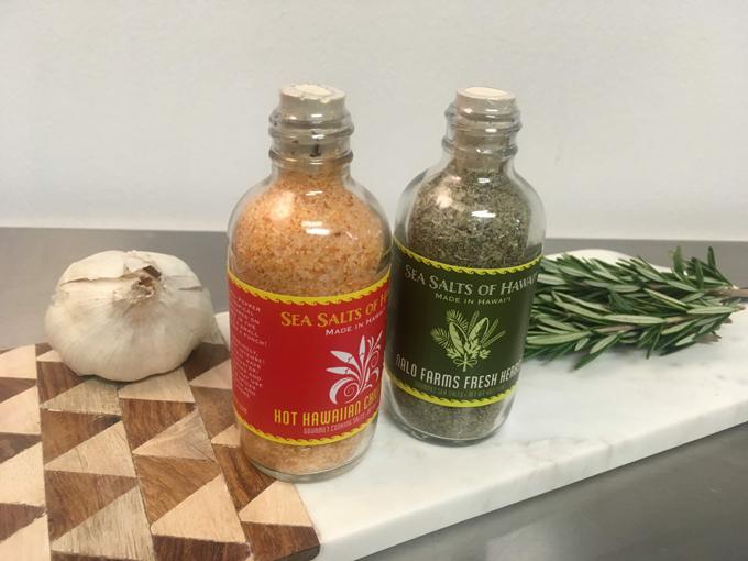 シーソルトオブハワイの塩の種類