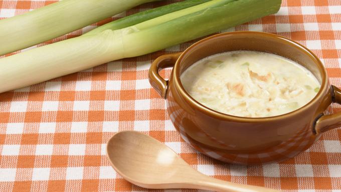 ネギとネギのスープ