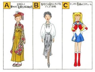 【心理テスト】初詣のコスプレイベントで、あなたは何を着る?