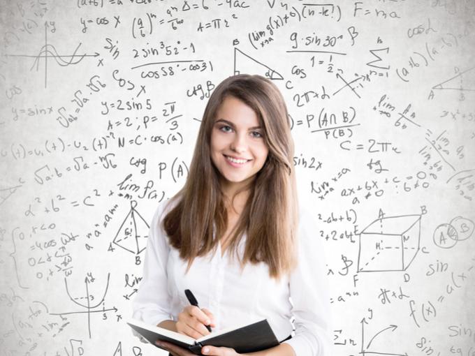 数学者の女性