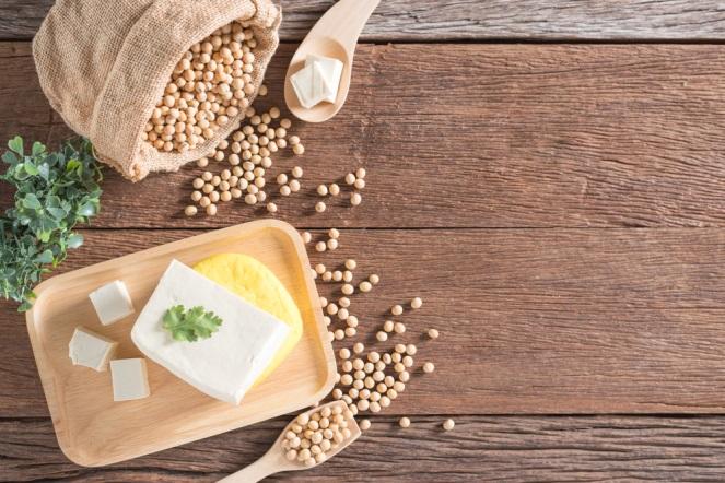 豆腐と大豆のイメージカット
