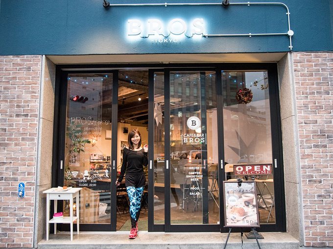 「BROS TOKYO 代官山店」店舗