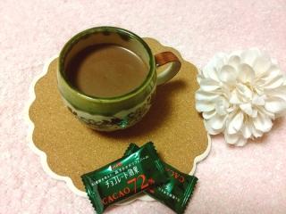 ホットチョコレートの画像