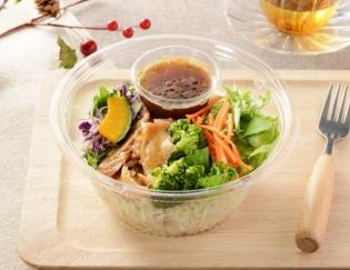 公式サイトで掲載された「1食分の野菜が摂れる! ブランパスタサラダ」の画像
