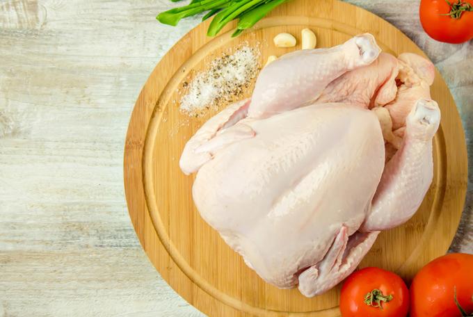 鶏肉の丸ごと画像