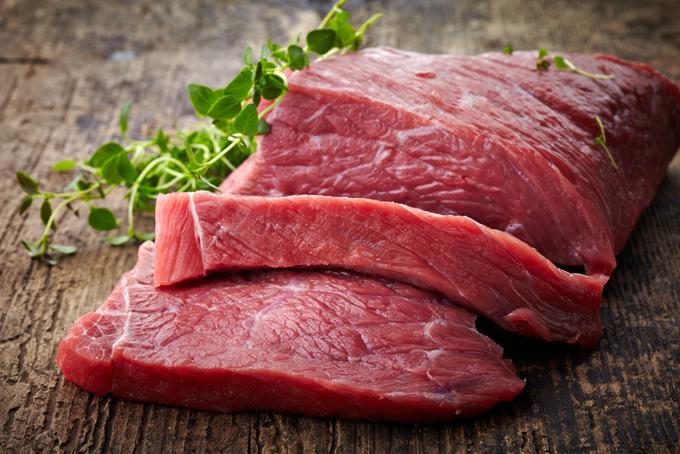 赤み肉の画像