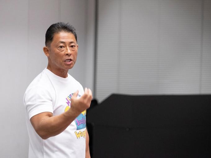 桑原弘樹先生