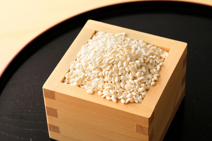 升に入った米こうじの画像
