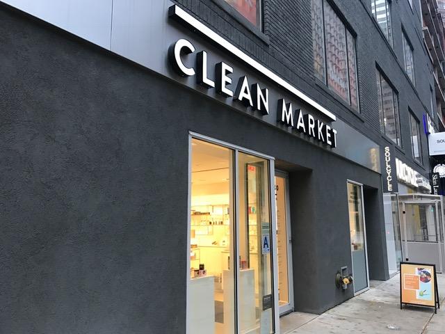 オープンして半年の「CLEAN MARKET」
