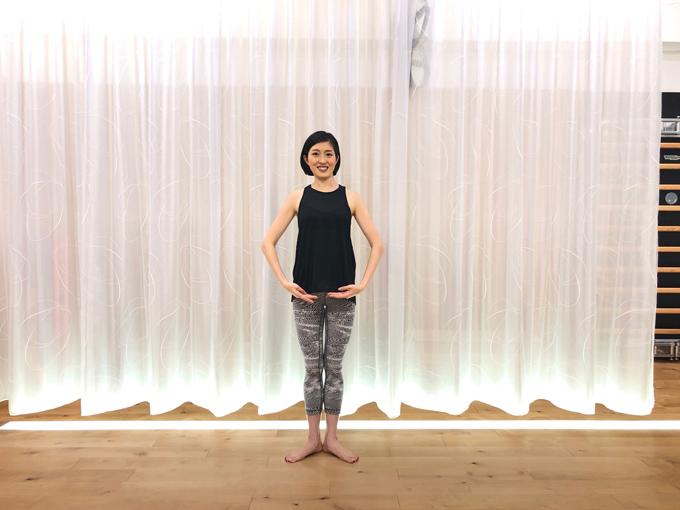 まっすぐに立つ(image7-2)