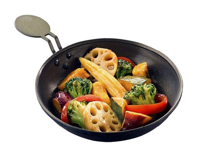 秋ベジ定食皿